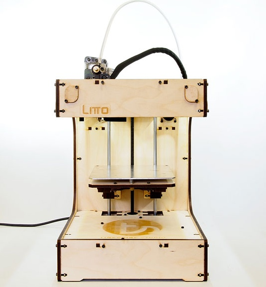 Litto 3d printer assembled