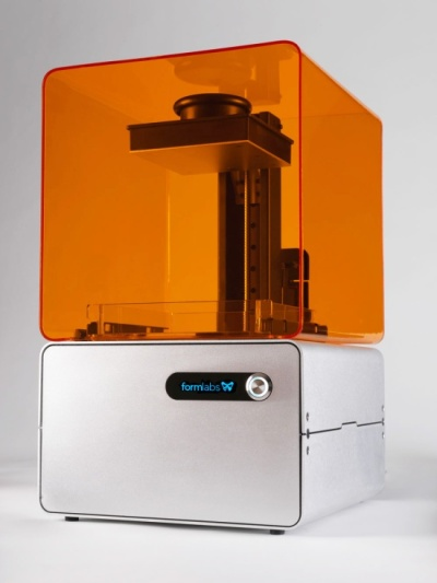 The form 1 3d printer