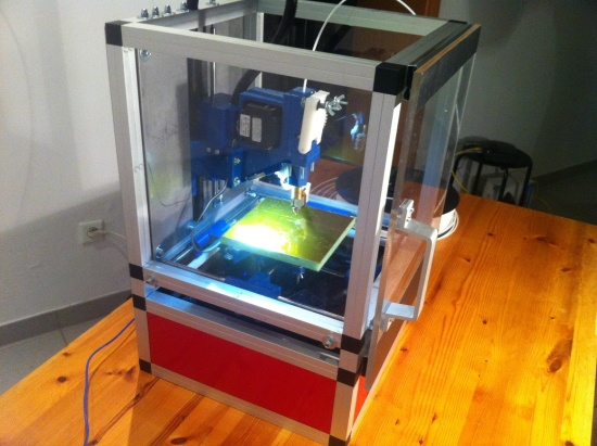 Irapid black 3d Printer