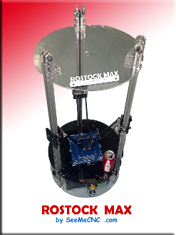 Rostock max complete 3d printer kit