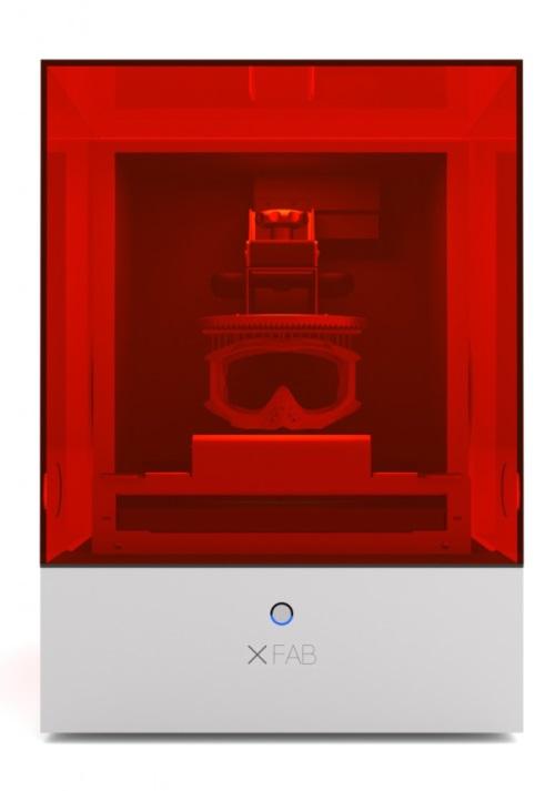 Xfab 3d laser printer