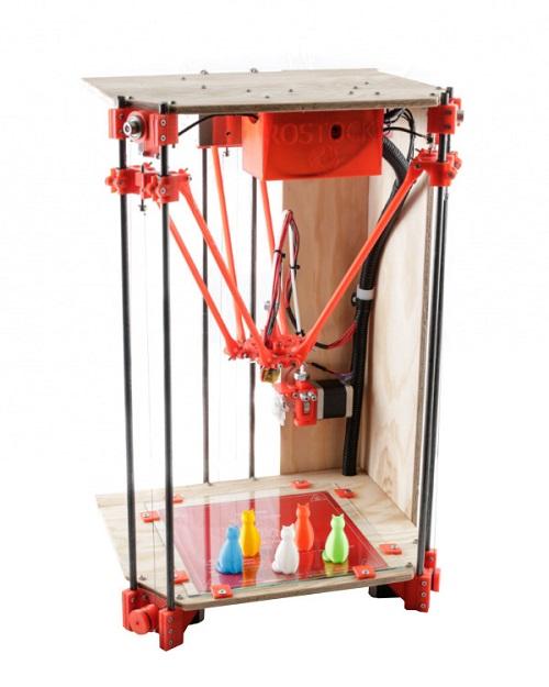 rostock 3d printer bi diy kit imprimante 3d. Black Bedroom Furniture Sets. Home Design Ideas